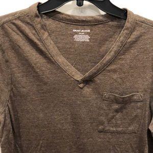 Men's DKNY Jeans V-neck T-shirt